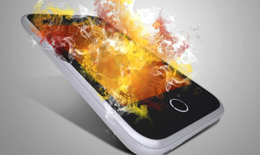 Handy Explodiert