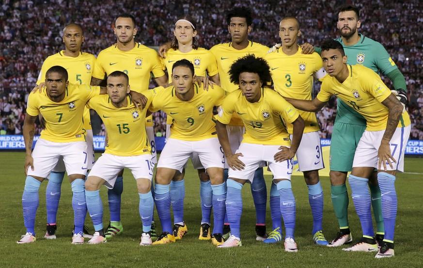 brasilien nationalmannschaft 2017
