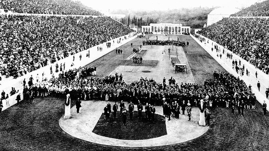 Betrunkene Läufer und einarmige Gewichtheber: So kurios waren die Olympischen Spiele 1896
