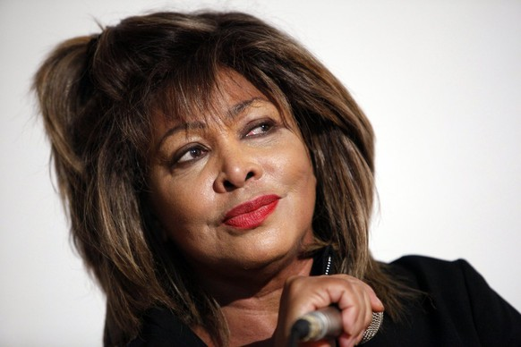 Singer Tina Turner presents the new CD