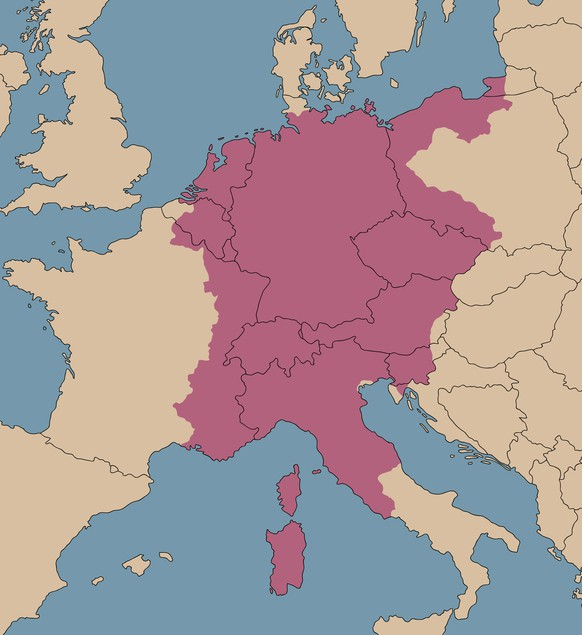 Heiliges Römisches Reich Karte.Geschichtsquiz Sieh Dir Die Karte An Und Wähle Dann Die Passende