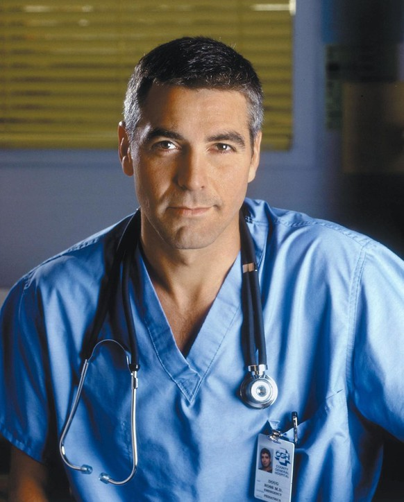 George Clooney in Emergency Room