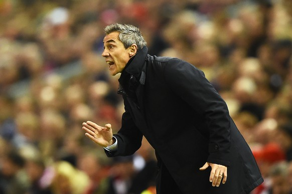 FILE - June 21, 2015: Paulo Sousa, who was formerly manager of teams such as QPR and Basel, has reached an agreement to become head coach of  Italian Serie A club Fiorentina. LIVERPOOL, ENGLAND - DECEMBER 09:  Paulo Sousa the head coach of FC Basel directs his players during the UEFA Champions League group B match between Liverpool and FC Basel 1893 at Anfield on December 9, 2014 in Liverpool, United Kingdom.  (Photo by Laurence Griffiths/Getty Images)