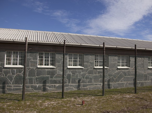 Before U.S. President Barack Obama visits during a tour, the prison is seen on Robben Island, South Africa, Sunday, June 30, 2013. Former South African president Nelson Mandela spent 18 years of his 27-year prison term on the island locked up by the former apartheid government. (AP Photo/Carolyn Kaster).