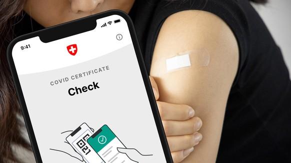 Covid Impfzertifikat, Schweiz, 2. Juni 2021