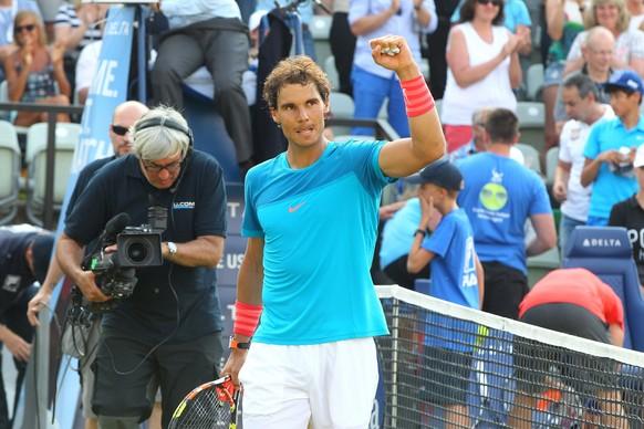 11.06.2015; Stuttgart; Tennis - ATP Stuttgart; Rafael Nadal (ESP); (Expa/freshfocus)