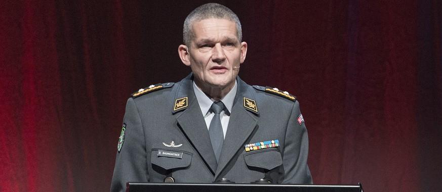 Korpskommandant Baumgartner wird nach Spesenskandal versetzt