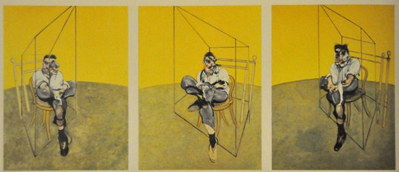 Francis Bacon, Three Studies of Lucian Freud