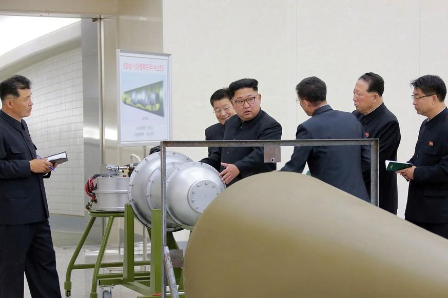 USA drohen mit Atomoption im Nordkorea-Konflikt
