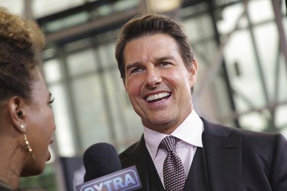 Actor Tom Cruise attends the U.S. premiere of
