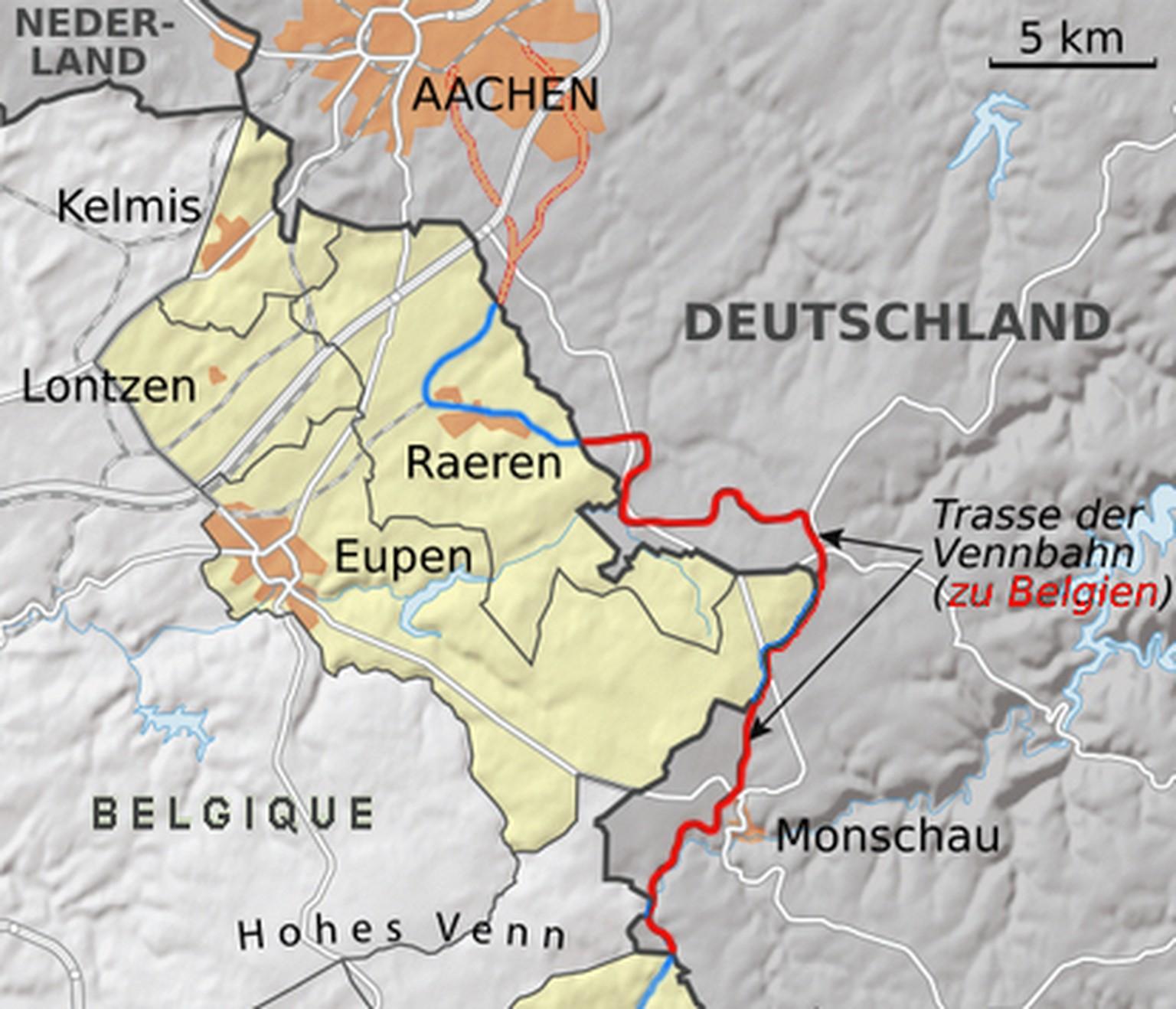Verlauf Ddr Grenze Karte.Verrückte Grenzen Teil Ii Sechs Kuriose Fälle In Europa Watson