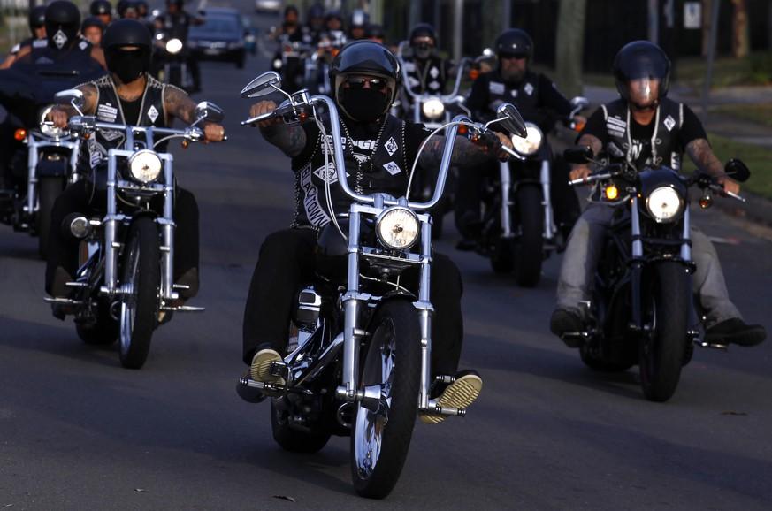 Das sind die gefährlichsten Biker-Gangs der USA - watson