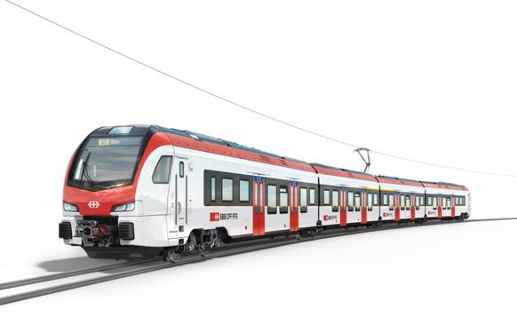 Die SBB hat 286 neue Flirt-Züge bei Hersteller Stadler Rail bestellt.