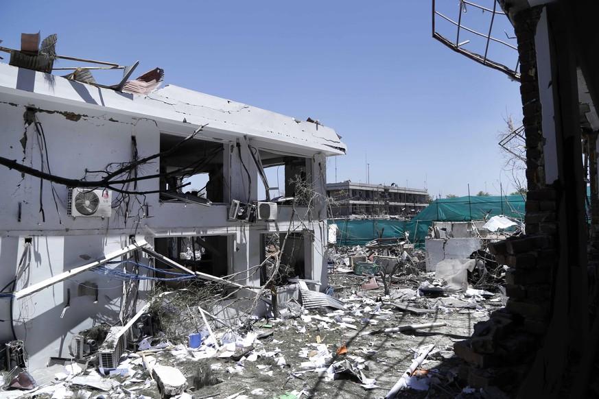 Anschlag auf Schiiten-Moschee in Kabul