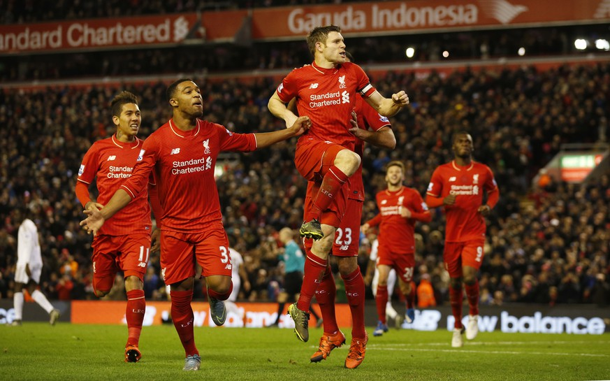 Football Soccer - Liverpool v Swansea City - Barclays Premier League - Anfield - 29/11/15