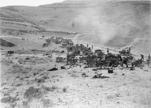 erster weltkrieg schlacht von meggido osmanische armee (wikipedia/pd)