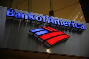 Shown is a Bank of America sign, Tuesday, Jan. 14, 2014, in Philadelphia. (AP Photo/Matt Rourke)