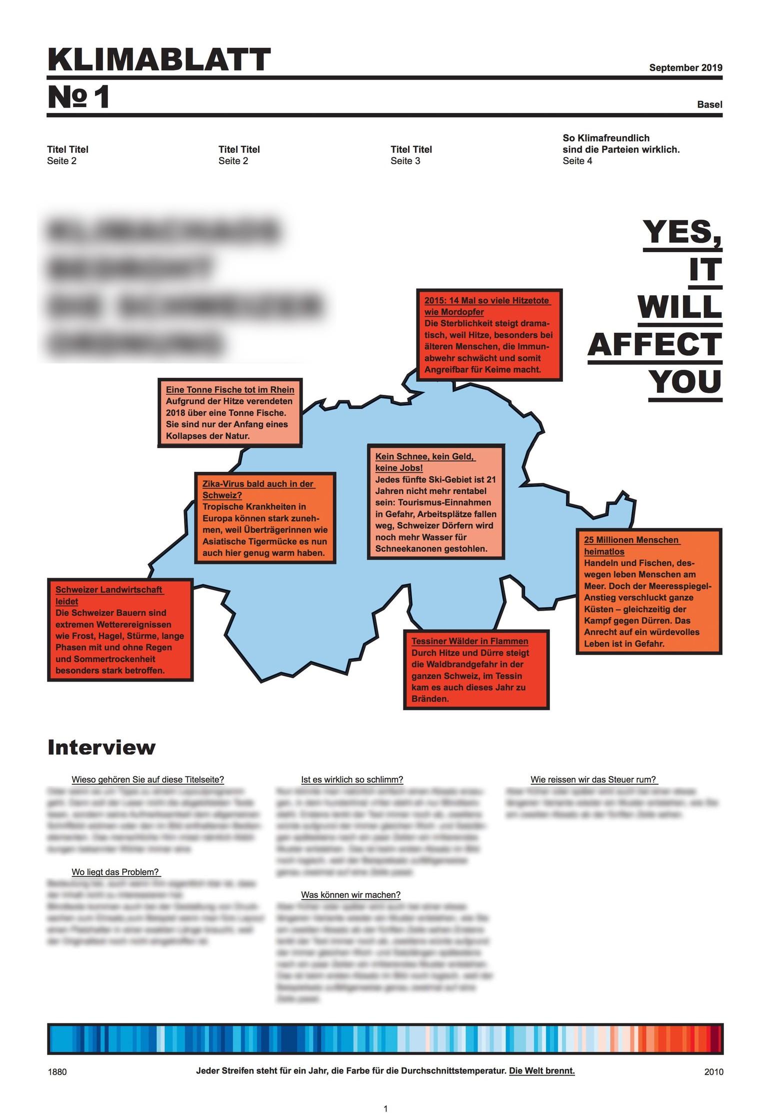 Klimablatt: So will die Klimajugend die Wahlen 2019