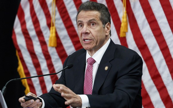 USA NEW YORK CUOMO PANDEMIC CORONAVIRUS COVID19