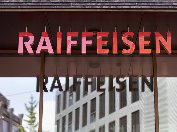 Die Raiffeisen-Gruppe hat im ersten Halbjahr 2020 unter dem Strich etwas weniger Reingewinn erzielt. (Archivbild)