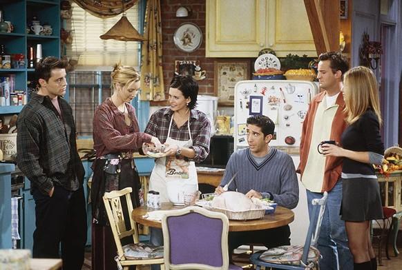 «Friends» Ein Serien-Klassiker aus den 90er Jahren. Sechs Freunde (von links: Joey, Phoebe, Monika, Ross, Chandler und Rachel) machen das Beste aus ihren 20ern in New York City.