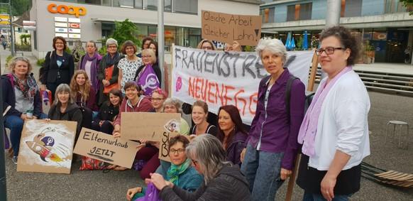 email: Sab.bamberger@gmail.com tel: 0797937980 Frauenstreik in neuenegg hat begonnen!  Von: Sabine Bamberger