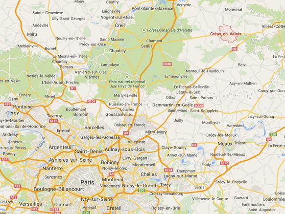 screenshot googlemaps