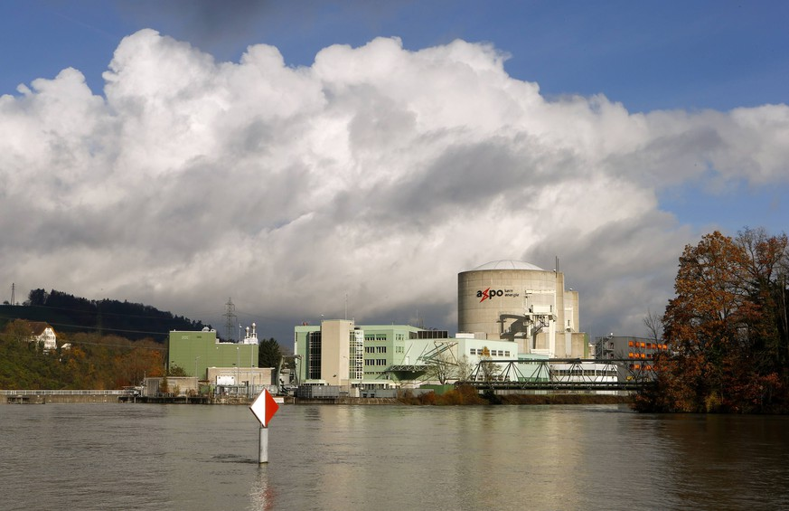 A general view shows the nuclear power plant Beznau and the Aare river near the northern Swiss village of Beznau November 18, 2014. REUTERS/Arnd Wiegmann (SWITZERLAND - Tags: ENERGY)