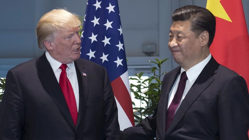 Donald Trump droht Nordkorea mit Militärschlag