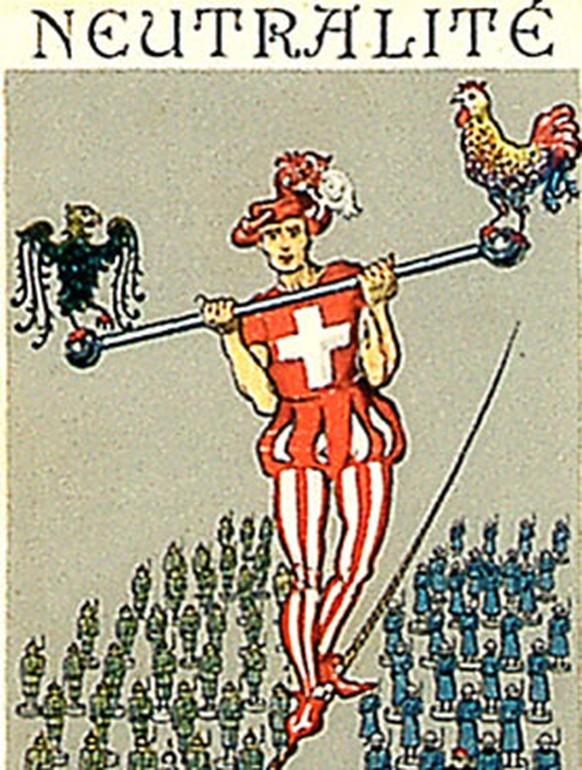 Schweiz Neutralität