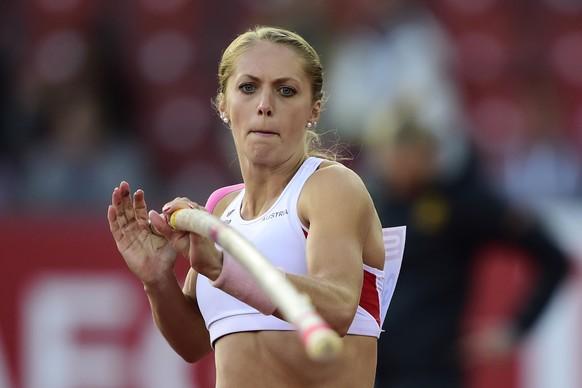 14.Aug.2014; Zuerich; Leichtathletik - EM Zuerich 2014;Kira Gruenberg (AUT) Stabhochsprung Final (Andy Mueller/freshfocus)