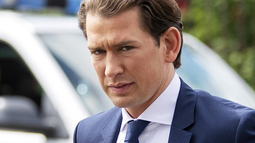 epa07586754 Austrian Chancellor Sebastian Kurz arrives for a meeting with Austrian President Alexander Van der Bellen at the Presidential office in Vienna, Austria, 20 May 2019. The meeting comes in the aftermath of Austrian Vice Chancellor and FPOe party leader Strache who on 18 May 2019 stepped down from his post, as he was caught in a corruption allegations scandal. German magazine 'Der Spiegel' and newspaper 'Sueddeutsche Zeitung' published on 17 May 2019 a secretly recorded video which appeared to show Strache in Ibiza, Spain, in July 2017, meeting an alleged niece of a unknown Russian oligarch who wanted to invest large sums of money in Austria. In return for election campaign donations, Strache is alleged to have promised public contracts in the event of his party joining the government.  EPA/CHRISTIAN BRUNA