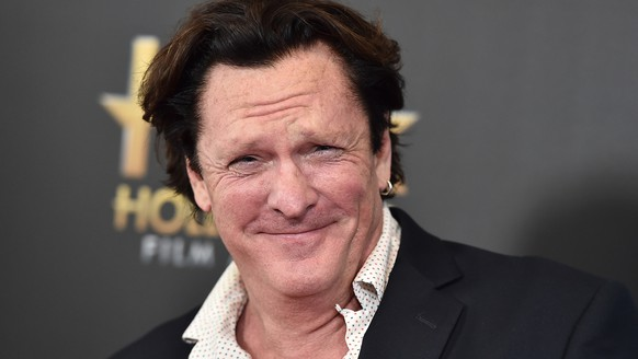 Michael Madsen arrives at the Hollywood Film Awards at the Beverly Hilton Hotel on Sunday, Nov. 1, 2015, in Beverly Hills, Calif. (Photo by Jordan Strauss/Invision/AP)