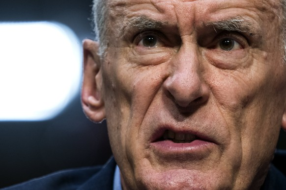 epa06521825 Director of National Intelligence Dan Coats testifies before an annual Senate Intelligence Committee hearing on 'world wide threats' in the Hart Senate office Building in Washington, DC, USA, 13 February 2018. The panel faced questions about the Adam Schiff memo and North Korea.  EPA/JIM LO SCALZO