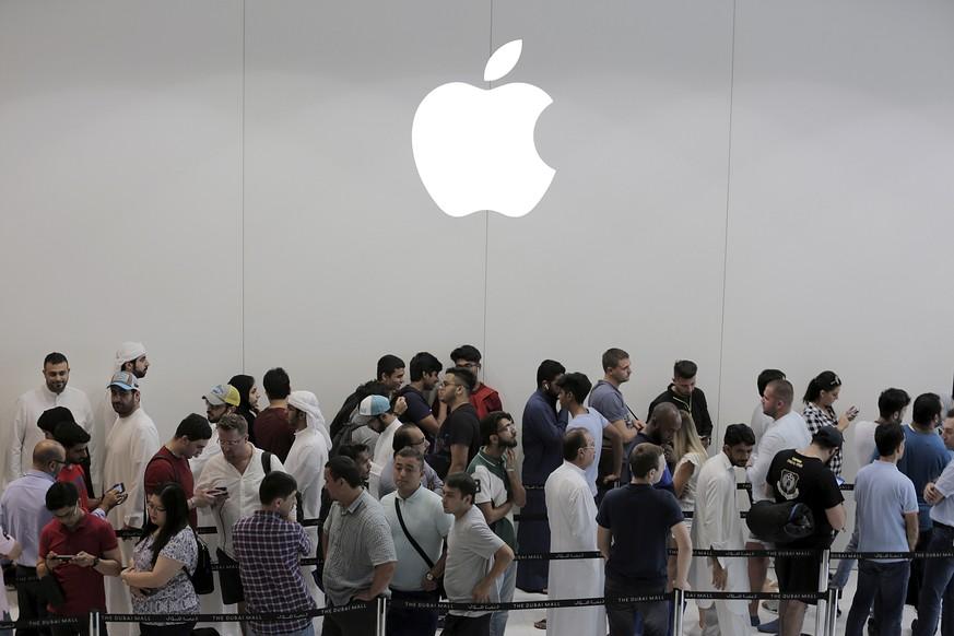 Apple-Umsatz über Weihnachten geringer als erwartet