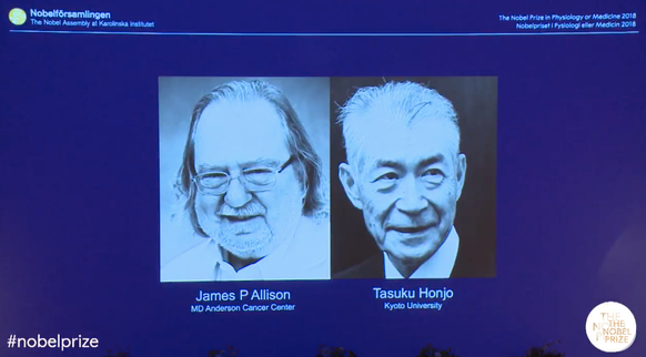 Medizin-Nobelpreis 2018: Wie Selbstheilungskräfte den Krebs besiegen