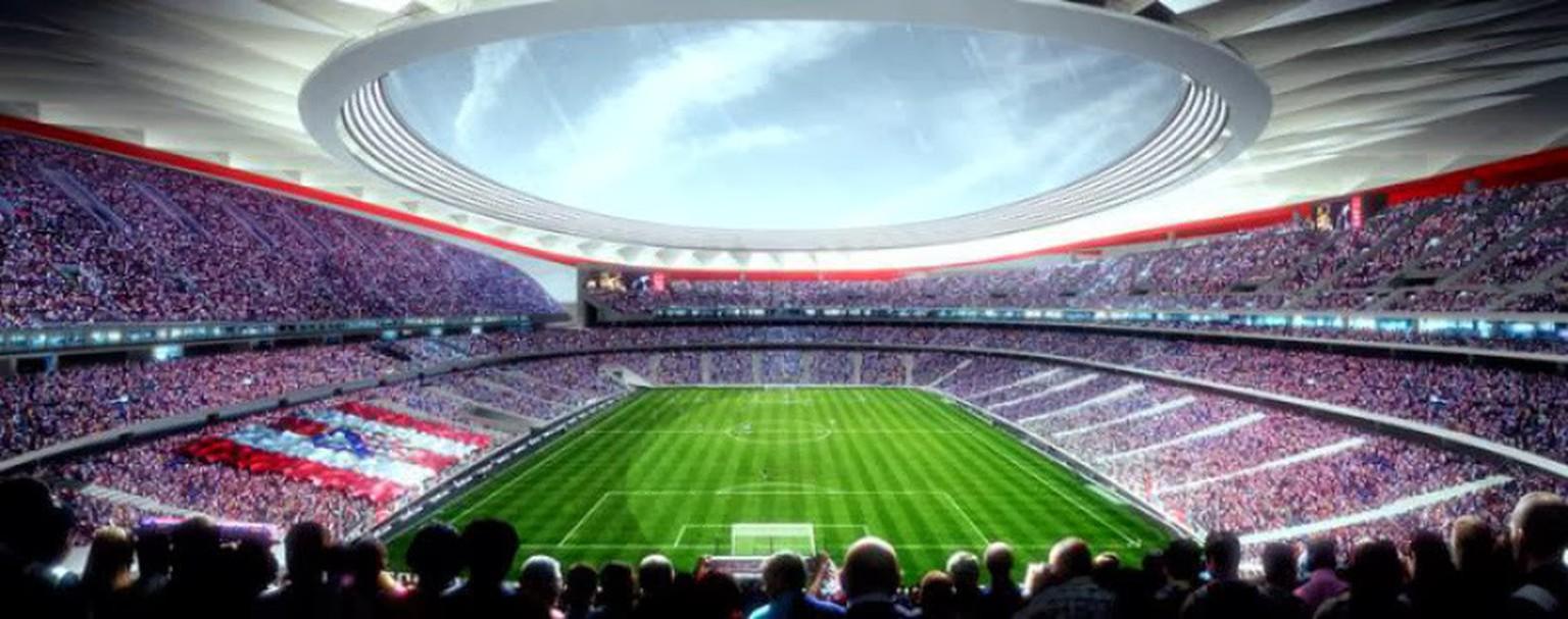 Atletico Neues Stadion