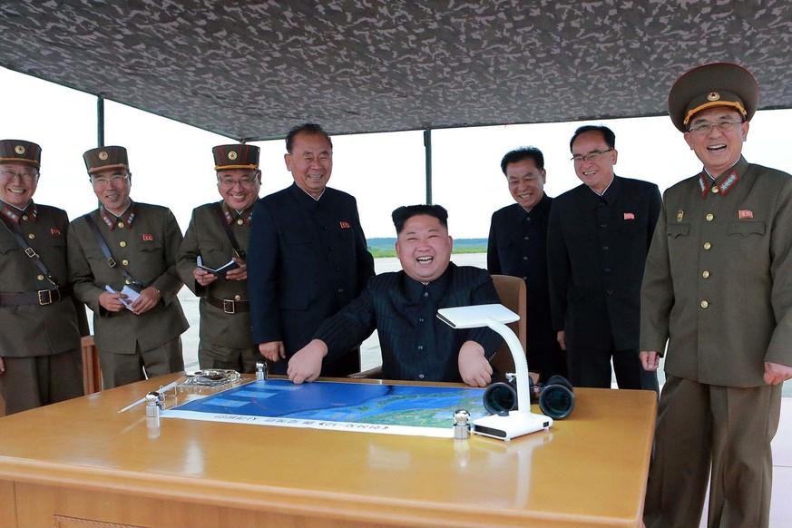 Nordkorea feuert neue Rakete ab