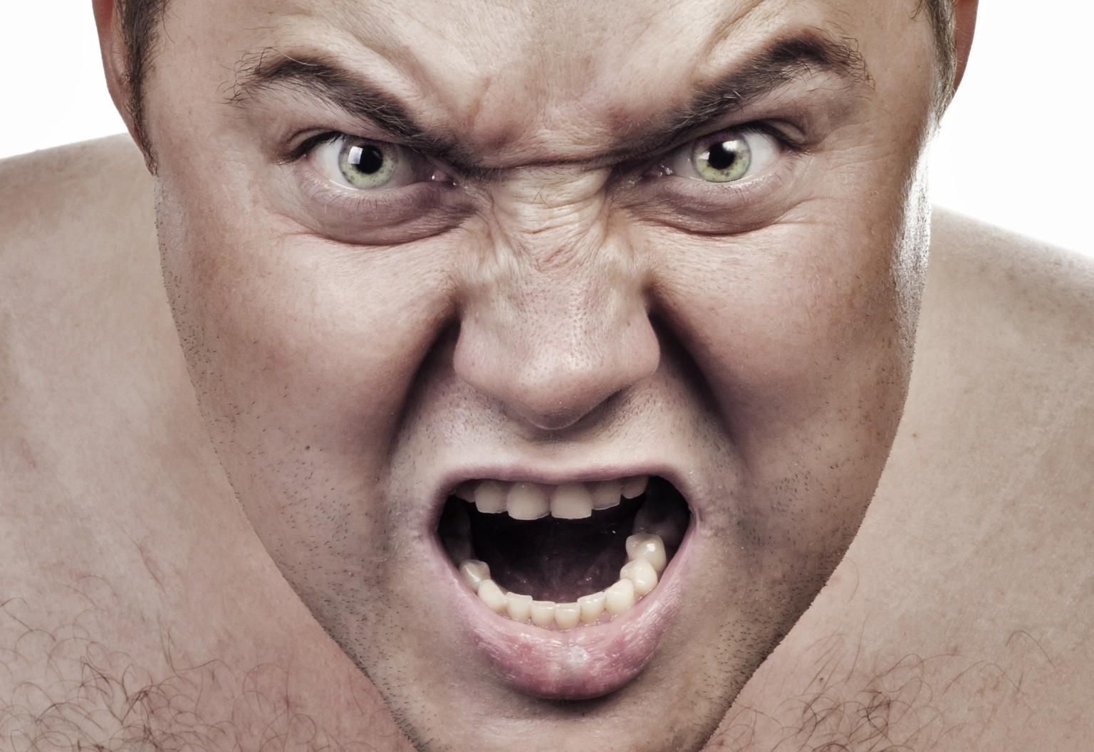 Wut Gesicht