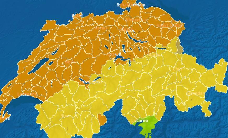 Wetter: Randtief Veiko sorgt für Orkanböen