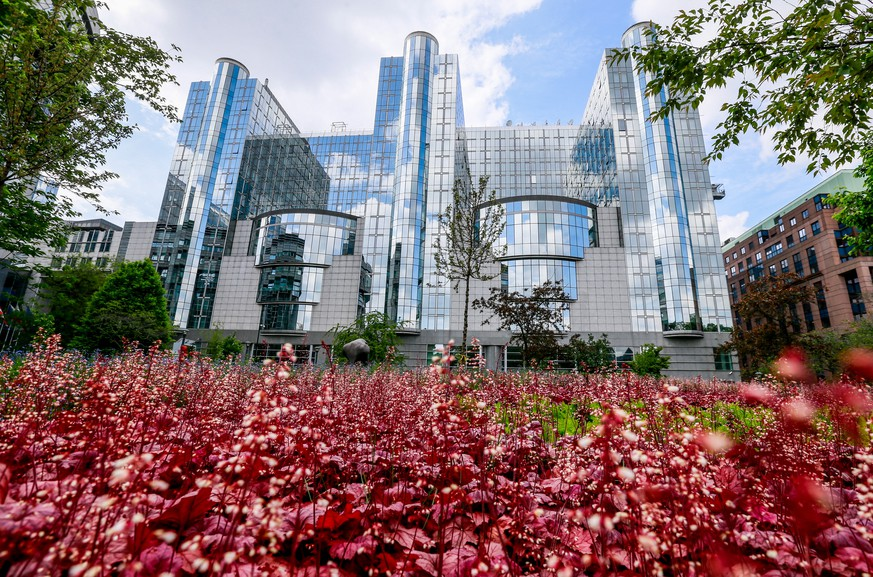 epa07553695 A general view of the European Parliament in Brussels, Belgium, 07 May  2019. The European Union parliamentary elections will take place from 23 - 26 May 2019.  EPA/STEPHANIE LECOCQ