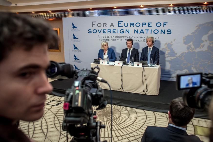 Rechtspopulisten fordern Ende der EU
