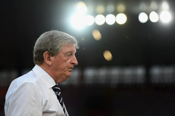 BASEL, SWITZERLAND - SEPTEMBER 08:  Roy Hodgson of England looks on priorto the UEFA EURO 2016 Qualifier match between Switzerland and England on September 8, 2014 in Basel, Switzerland.  (Photo by Laurence Griffiths/Getty Images)