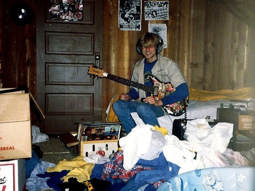 ARCHIV -- ZUM 25. TODESTAG VON KURT COBAIN AM FREITAG, 5. APRIL 2019, STELLEN WIR IHNEN FOLGENDES BILDMATERIAL ZUR VERFUEGUNG -- 