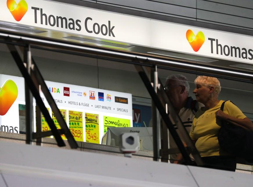 Thomas Cook stellt Geschäft ein – Aktion «Matterhorn» läuft an