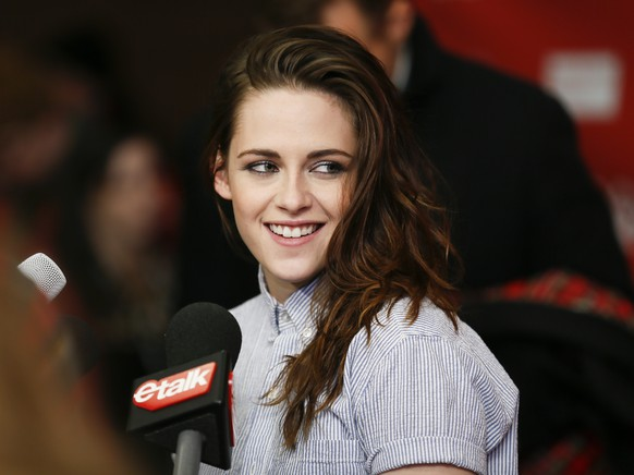 FILE - In this Jan. 17, 2014 file photo, actress Kristen Stewart smiles at the premiere of the film