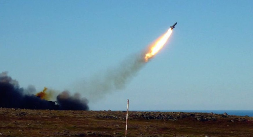 Raketentest in Russland.  Bild RUSSIAN DEFENCE MINISTRY WEBSITE