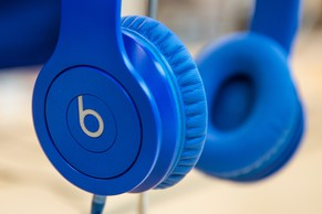 FILE - MAY 28, 2014: It was reported that Apple Inc. will buy headphone-maker Beats Electronics for approximately $3 billion May 28, 2014. NEW YORK, NY - MAY 09:  Beats headphones are sold in an Apple store on May 9, 2014 in New York City. Apple is rumored to be consideringing buying the headphone company for $3.2 billion.  (Photo by Andrew Burton/Getty Images)