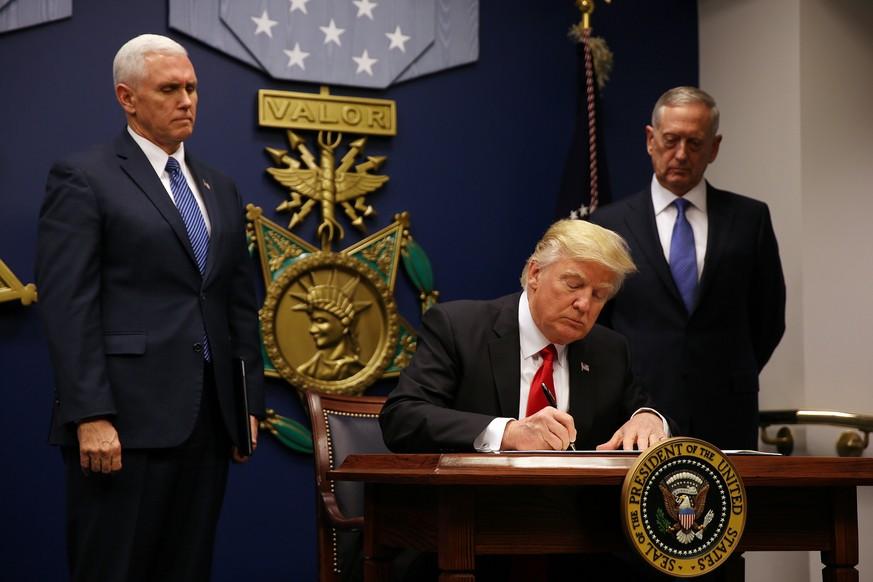 Richter in zwei US-Staaten stoppten neue Einreiseverbote