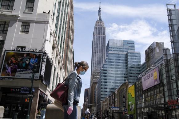USA NEW YORK ECONOMY PANDEMIC CORONAVIRUS COVID19
